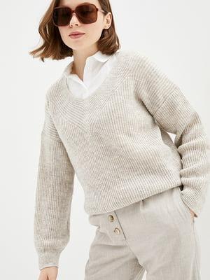 Пуловер бежевий   5430361