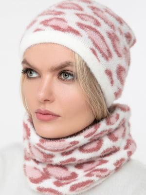 Комплект: шарф-снуд и шапка | 5430392