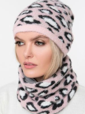 Комплект: шарф-снуд и шапка | 5430393
