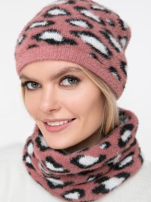 Комплект: шарф-снуд и шапка | 5430394