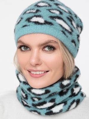 Комплект: шарф-снуд и шапка | 5430395