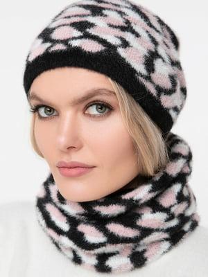 Комплект: шарф-снуд и шапка | 5430396