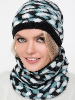 Комплект: шарф-снуд и шапка | 5430397
