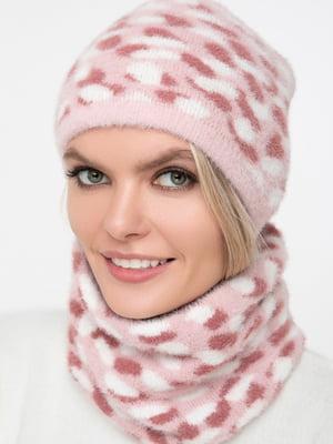 Комплект: шарф-снуд и шапка   5430398