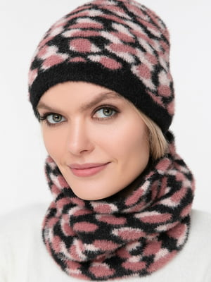 Комплект: шарф-снуд и шапка | 5430399