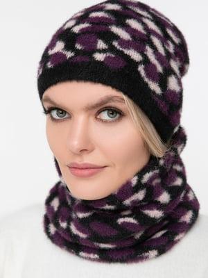 Комплект: шарф-снуд и шапка | 5430400