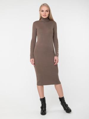Сукня темно-бежева   5430421