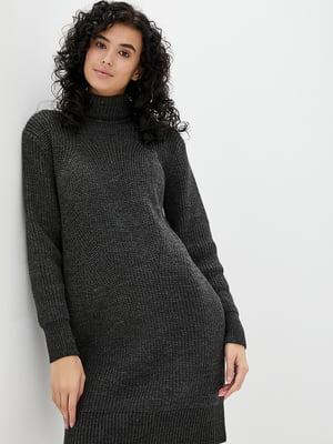 Платье темно-серое | 5430423