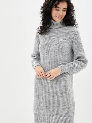 Сукня світло-сіра | 5430424