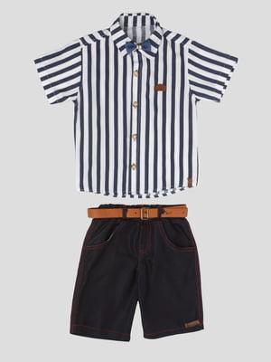 Костюм: сорочка і шорти | 5427539