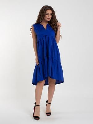 Платье цвета электрик | 5430948