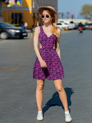Платье в цветочный принт | 5430953