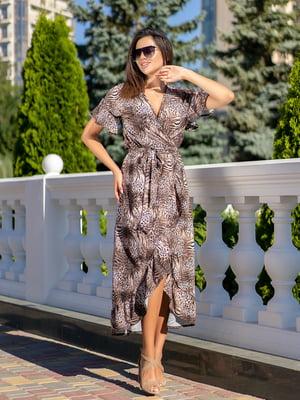 Сукня з леопардовим принтом | 5431028