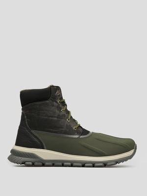 Ботинки оливкового цвета | 4920867