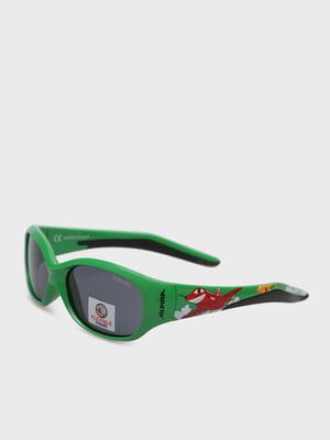 Окуляри сонцезахисні зелені | 5259208