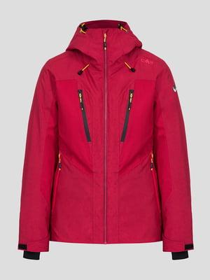 Куртка лыжная гранатового цвета | 5259981