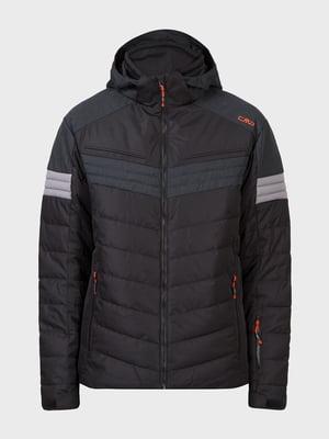 Куртка лыжная черная | 5259988