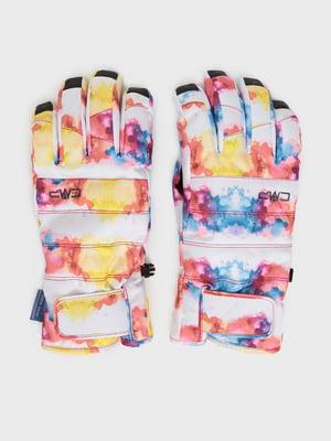 Перчатки с принтом | 5260036