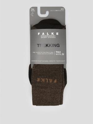 Носки лыжные коричневого цвета | 5260380