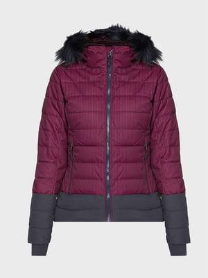 Куртка лыжная бордовая | 5397923
