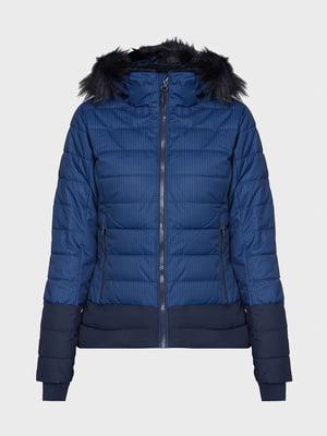 Куртка лыжная синяя | 5397924
