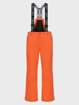 Штани лижні помаранчеві | 5398694