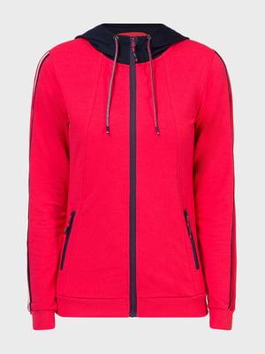 Куртка спортивна рожева | 5398789