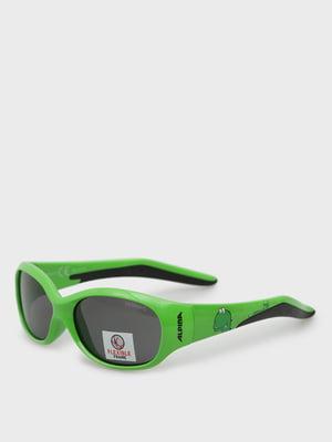 Окуляри сонцезахисні зелені | 5398850