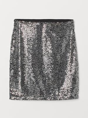 Спідниця сріблястого кольору | 5431325