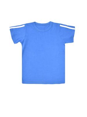 Футболка синя | 5431181