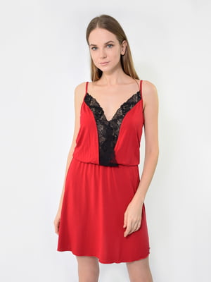 Сорочка нічна червона | 5431270