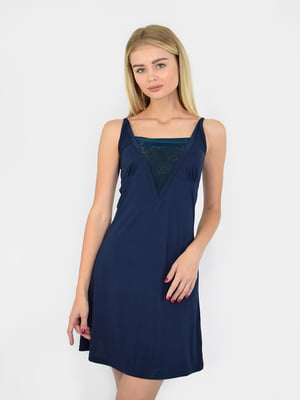 Сорочка нічна темно-синя   5431293