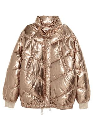 Куртка золотистого кольору   5431663