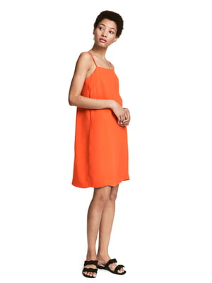 Сарафан помаранчевого кольору | 5431828