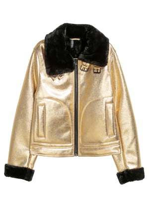 Куртка золотистого кольору   5431833
