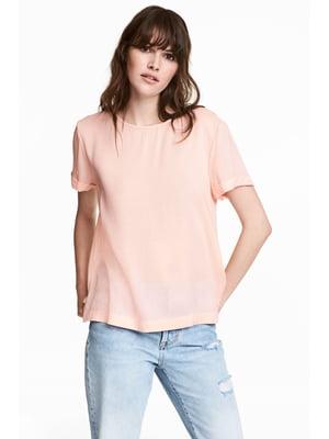 Блуза пудрового цвета   5432151