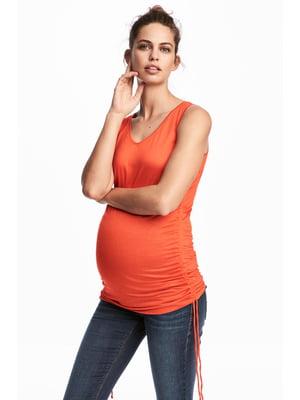 Майка оранжевая | 5432365