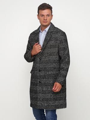 Пальто сіре в клітинку | 5432471