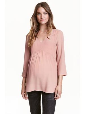 Блуза пудрового кольору | 5432808