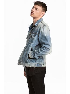 Куртка голубая | 5432975