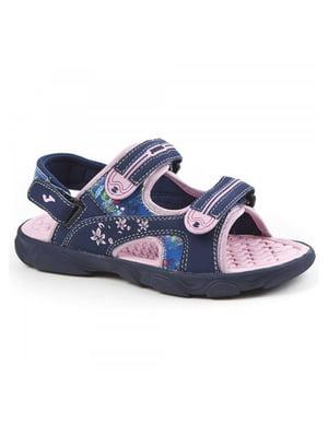 Сандалії синьо-рожеві | 5433489