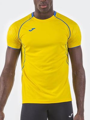 Футболка желтого цвета   5433668