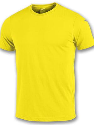 Футболка желтого цвета   5433675