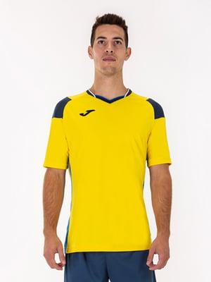 Футболка желтого цвета   5433682