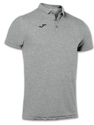 Футболка-поло серого цвета | 5433729