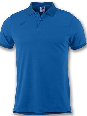 Футболка-поло синего цвета | 5433737