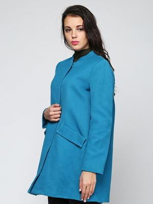 Пальто синее | 5433809