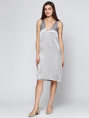 Платье серое | 5433831