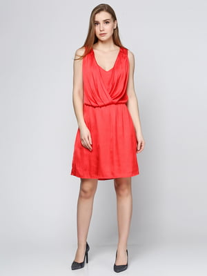 Платье кораллового цвета | 5433838