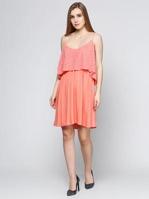 Сарафан кораллового цвета | 5433841